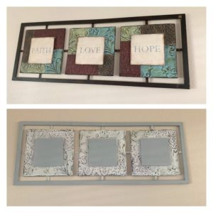 DIY Decorative Metal Picture Upcycle