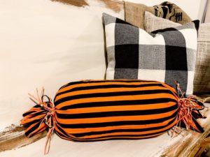 DIY Halloween Candy No Sew Pillow