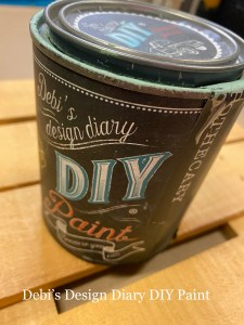 Debi's Design Diary DIY Paint