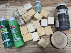 DIY Scrap Wood Block Christmas Tree