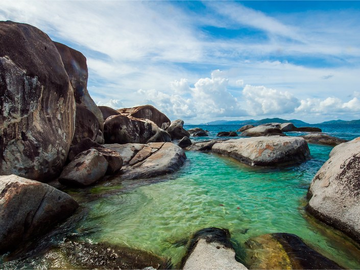 The Baths of Virgin Gorda, British Virgin Islands by Lizzy Davis Photography.