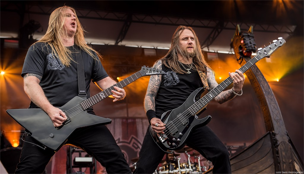 Amon Amarth photos - Mikkonen and Lundström show their faces!