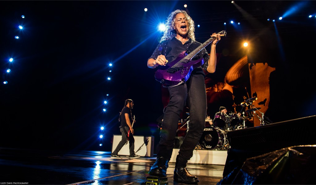Kirk Hammett, lead guitarist of Metallica. ©Lizzy Davis Photography
