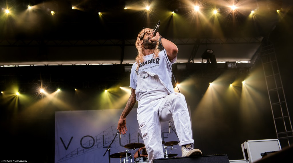 Myke Terry, new vocalist of Volumes. Photos from Carolina Rebellion by ©Lizzy Davis Photography.