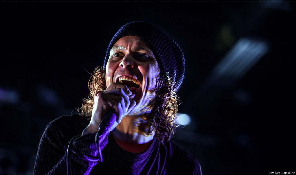 Finnish rock band HIM vocalist Ville Valo. ©Lizzy Davis Photography