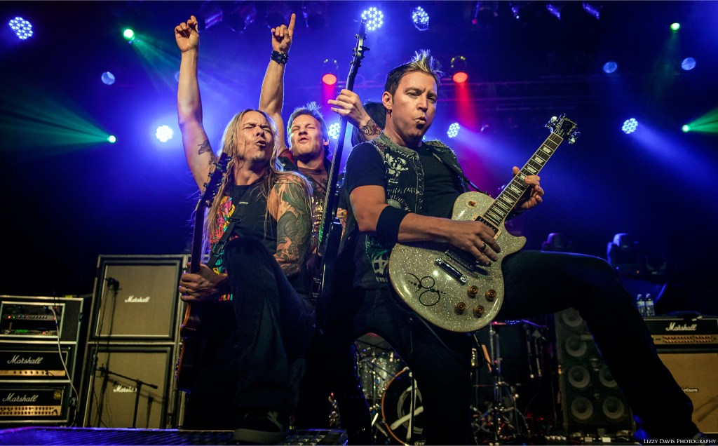 Fozzy at The Fillmore in Charlotte, NC. Photo by Lizzy Davis