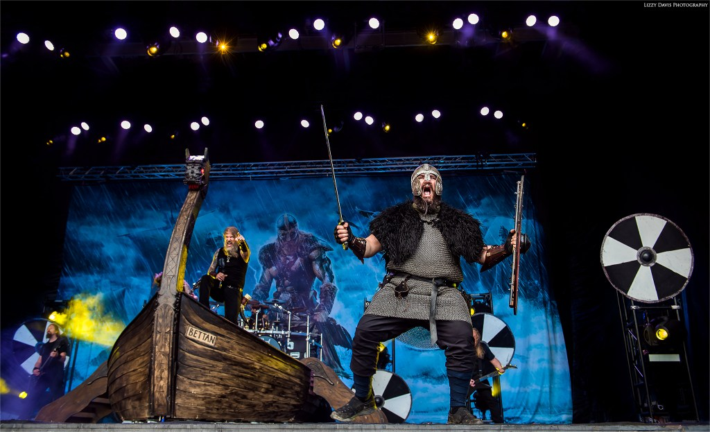 The Amon Amarth Vikings are ready for battle!