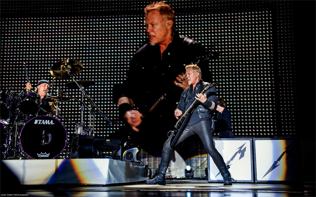 Metallica in concert at Rock on the Range. ©Lizzy Davis Photography