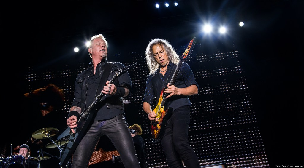 Metallica headlining Rock on the Range 2017. Photos by ©Lizzy Davis Photography.