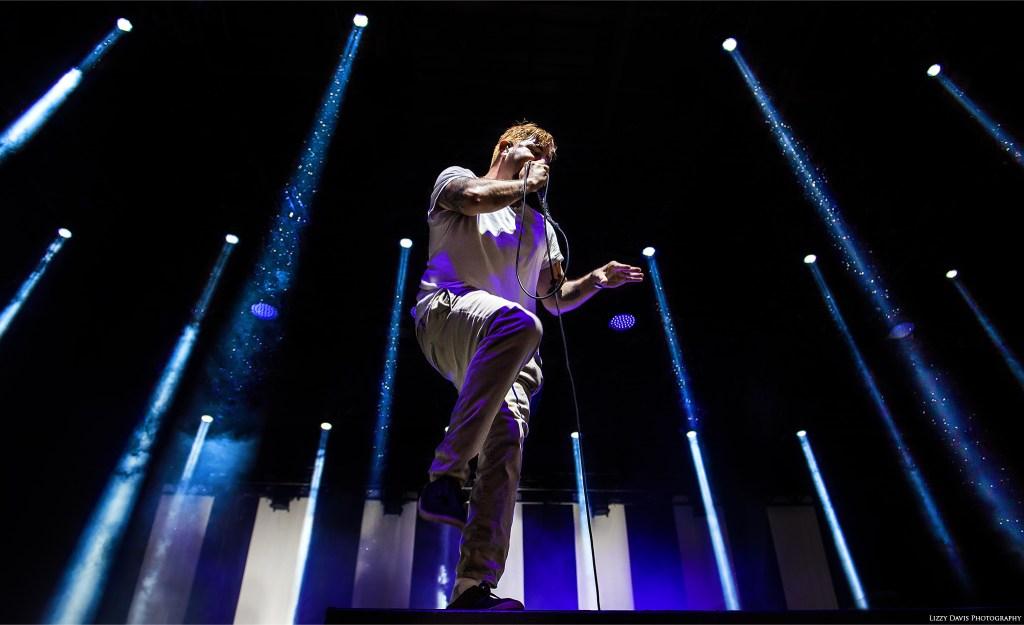 Defones vocalist Chino Moreno live in Tampa, FL. ©Lizzy Davis Photography