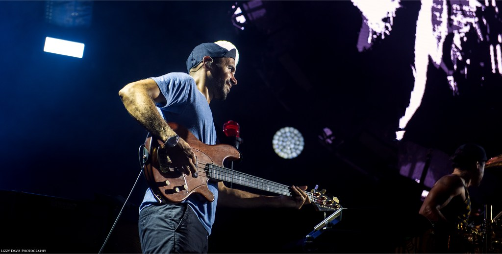 Bassist Ben Kenney. Incubus photos by ©Lizzy Davis Photography.