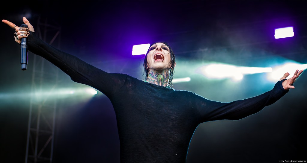 Motionless in White at Welcome to Rockville 2017. Photos by ©Lizzy Davis Photography.