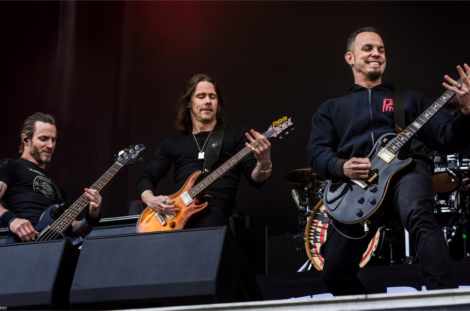 Alter Bridge Live 2017 | Carolina Rebellion Photos + Story