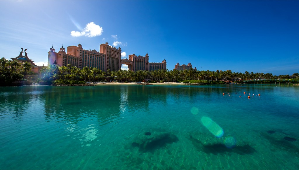 Photo of Atlantis Resort in the Bahamas by Lizzy Davis.