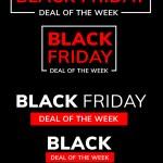 Black Friday Deal of the Week Branding