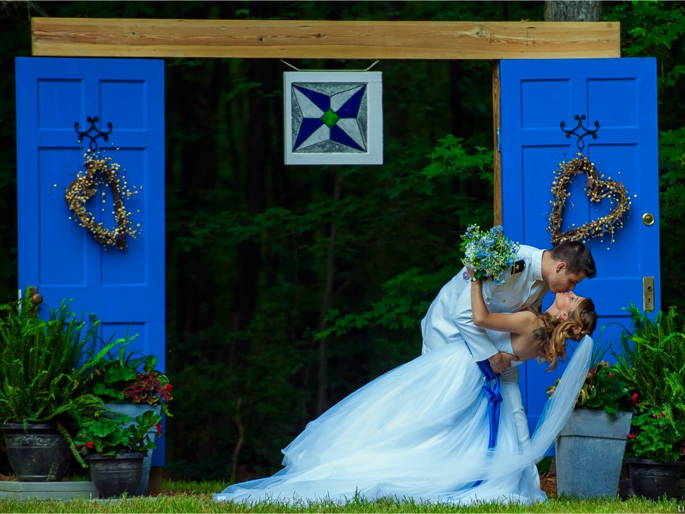 Wedding photography - you may kiss the bride!