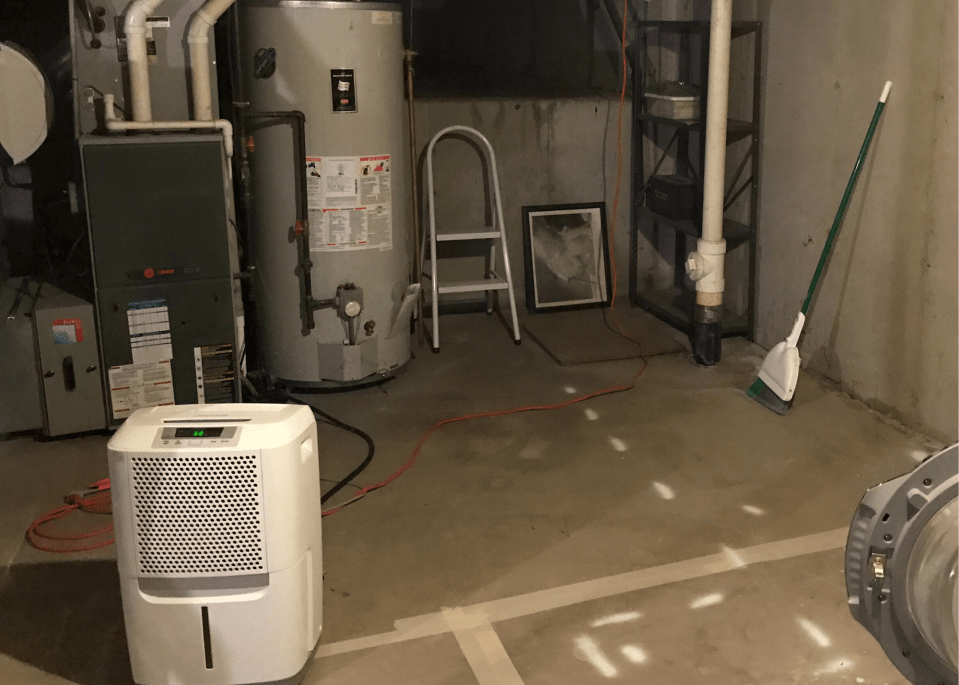 No more free standing dehumidifiers like this now with a built in dehumidifier system