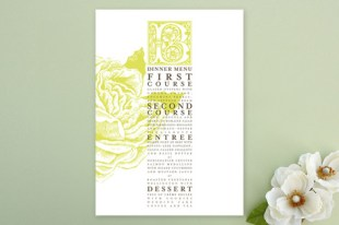 rose garden menu card position 1
