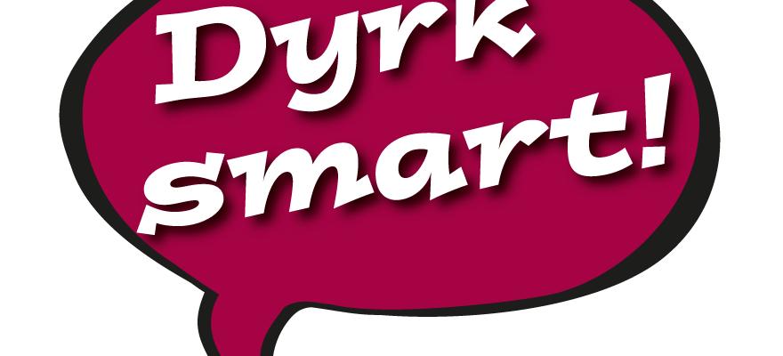 Logo Dyrk Smart, morellfarg