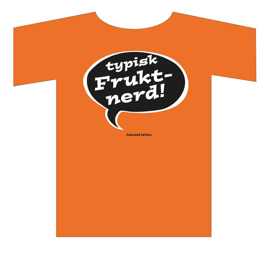 T-skjorte fruktnerd