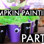 Hosting a Pumpkin Painting Party : DIY Projects