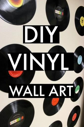 DIY Vinyl Wall Art