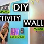 DIY Activity Wall- Playroom