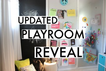 JJ's Updated Playroom Reveal