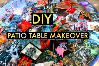 DIY PATIO TABLE MAKEOVER
