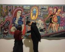 Detalj sa otvaranja izlozbe u Novom Sadu foto Radomir Tadic