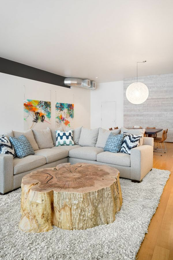 wooden living room table build yourself