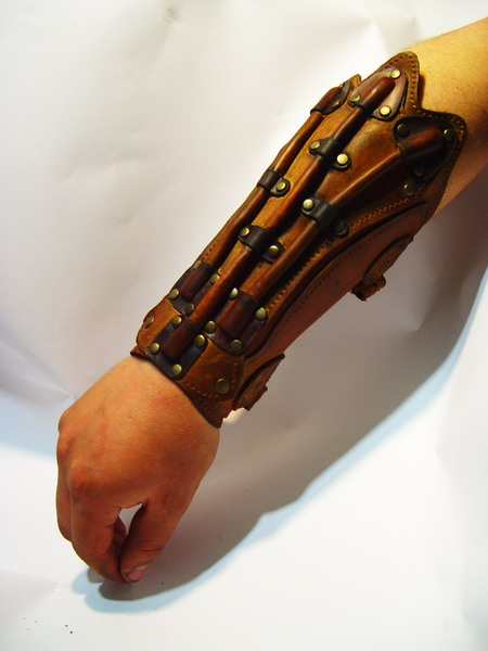 Bob Basset Steampunk Cyber Bracers
