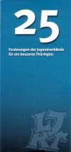 25 Forderungen der Jugendverbände 32.VV