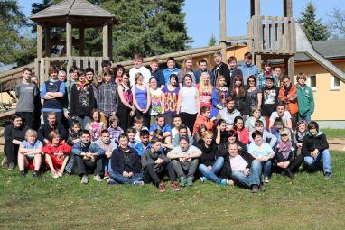 Gruppenbild Werteprojekt 2014