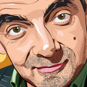 Rowan Atkinson Portrait Featured Image