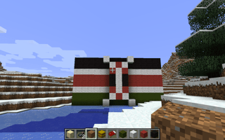 Kenya Minecraft flag