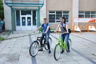 Чтобы посмотреть центр Ужгорода вам достаточно будет аренды велосипедов на 1 час