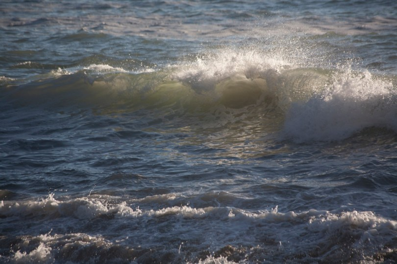Waves on Tennessee Beach - Marin County CA