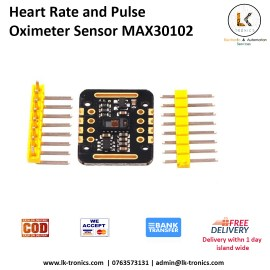 Heart Rate and Pulse Oximeter Sensor