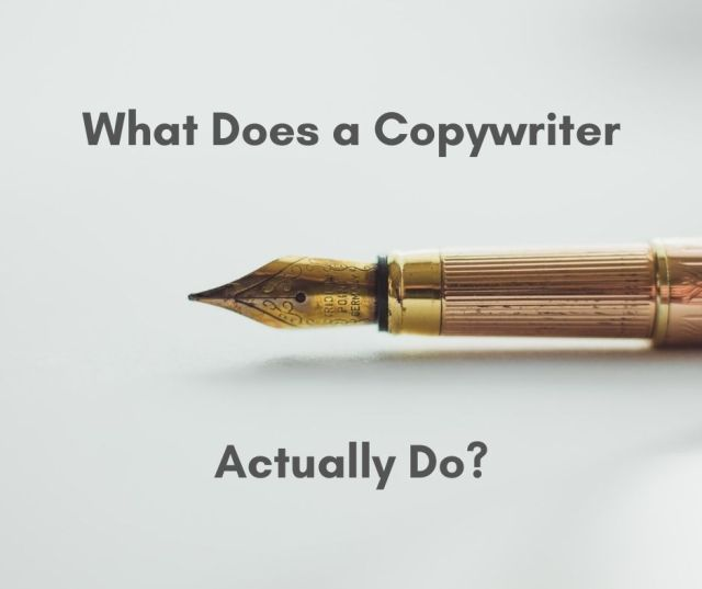 what does a copywriter do nottingham