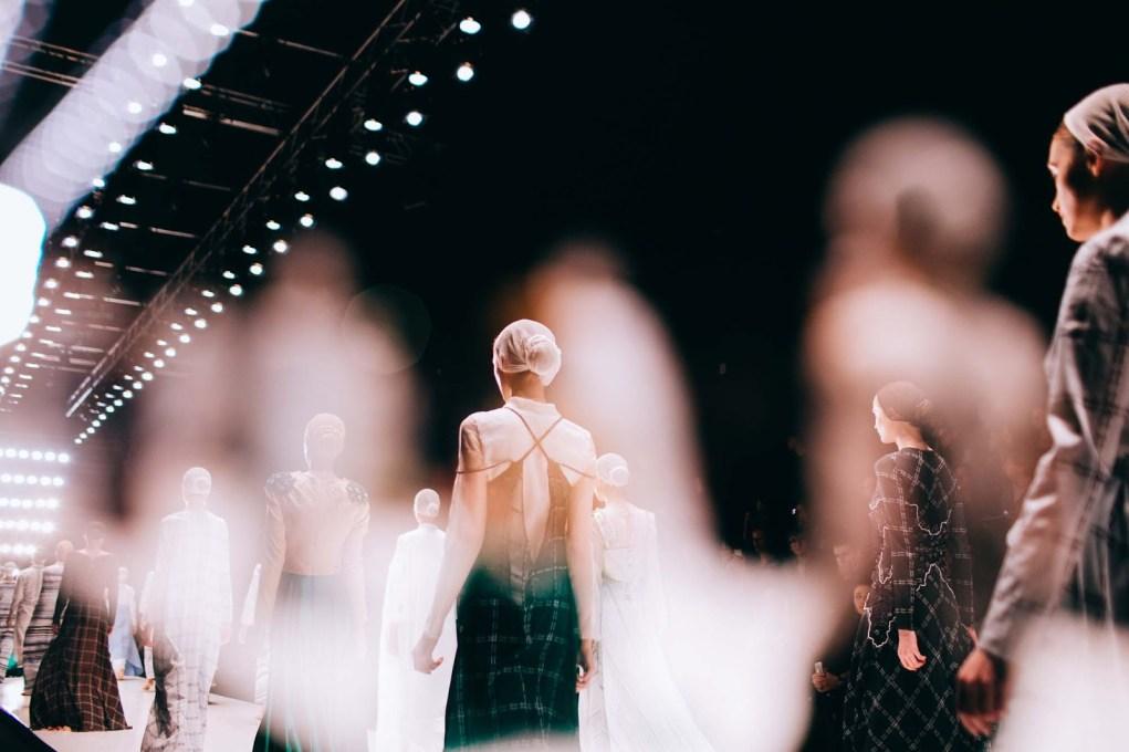 Показ Mercedes-Benz Fashion Week Russia