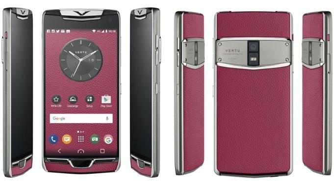 Новый смартфон Vertu Constellation
