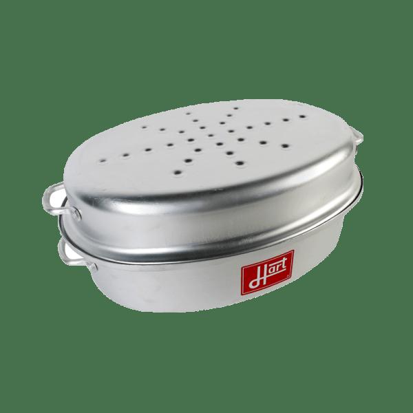 118-15 Large Aluminium hart casserole