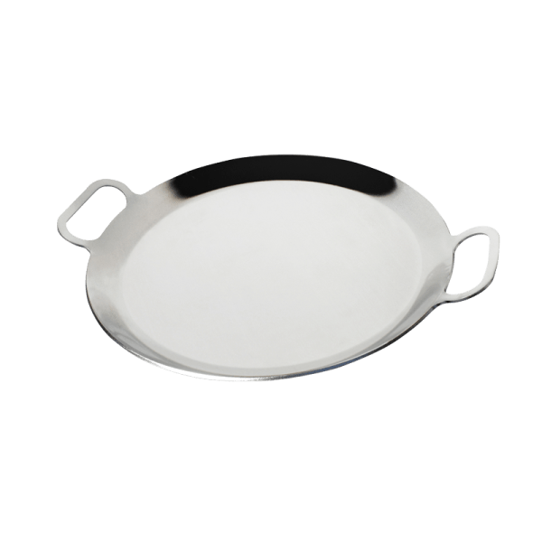 118-3 Stainless Steel Round Pan_