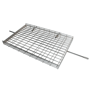 126-15 rotisserie large flat basket