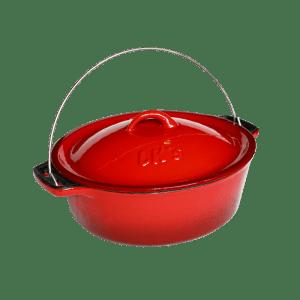 145-20 - lks no10 bake pot red