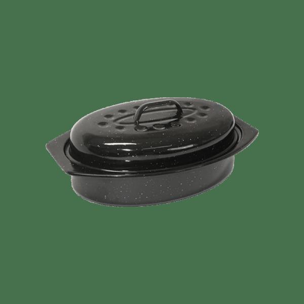 118-16 Medium Enamel Oval Casserole