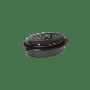 118-16 Small Enamel Oval Casserole