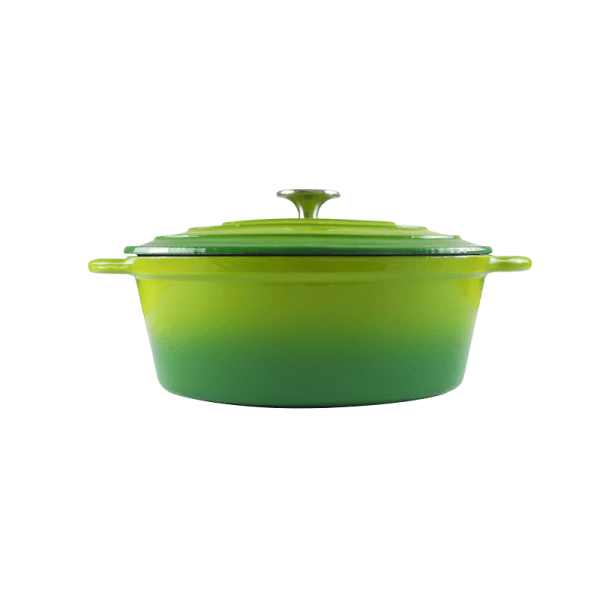 160-052 - green oval casserole 1