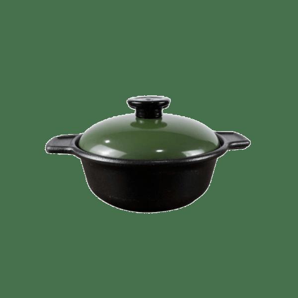 Supreme Round Casserole # 7 [Green]